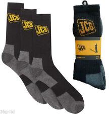 JCB Patternless Socks for Men