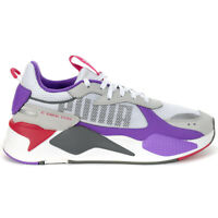 Puma Men's RS-X Bold Puma White/High Rise/Royal Lilac Sneakers 37271504 NEW!