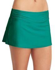 NWT Athleta Shirred Band Swim Skirt 2, Electric Jade, EXTRA SMALL (XS) Beach $49