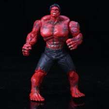"""10"""" Large Marvel Avengers Hero The Red Hulk Action Statue Figure Collection Toys"""
