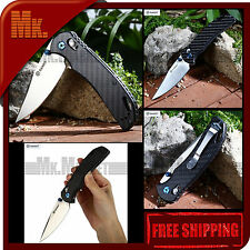 Authentic Knife GANZO G7531-CF / G753-1 | 440C Steel | Carbon Fiber | Axis Lock