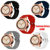 New Soft Sport Silicone Watch Wrist Band Strap for Samsung Galaxy Watch 42mm US