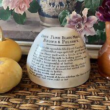 More details for brown & polson's corn flour blanc-mange jelly mould - antique kitchenalia