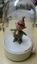 Christmas 2008 Hallmark Happy Tappers ANIMATED Dancing Candy Cane Elf - Works