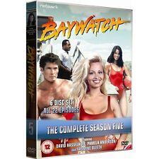 Baywatch : Series 5 (6 Discs) - David Hasselhoff, Pamela Anderson - New DVD