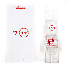 400% Medicom Fragment #1 Rabbit x Bearbrick Rabbrick R@bbrick - Clear Version