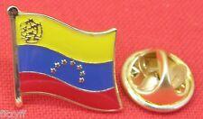 Venezuela Country Flag Lapel Hat Cap Tie Pin Badge República Bolivariana de