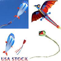 Children's Stereo Cartoon Frameless Animal 3D Software Kite Outdoor Fun