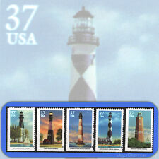 2003  SOUTHEASTERN LIGHTHOUSES Complete Set of 5  Single MINT Stamps # 3787-3791