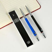 Practical Automatic Draughting Mechanical Drafting Pencil With 12Pcs 2mm Leads