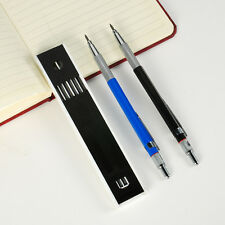 Hot Sale Useful Automatic Drafting Mechanical Pencil 2mm With 12Pcs Leads Set