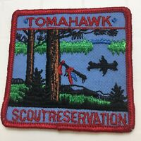 BSA Boy Scouts Patch Tomahawk Scout Reservation Wisconsin