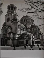 Paul Wolff & Tritschler Vintage Gelatinesilberabzug Sofia Kirche Bulgarien Balka