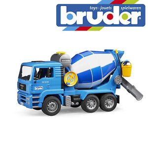 Bruder MAN TGA Cement Mixer Construction Kids Childrens Toy Model Scale 1:16