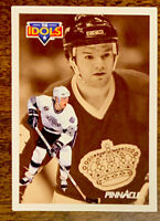 NHL Hockey Card 1991 Score Pinnacle The Idols Luc Robitaille Marcel Dionne #385