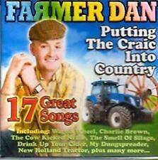 FARMER DAN - PUTTING THE CRAIC INTO COUNTRY - CD NEW RELEASE 2013 - NEW