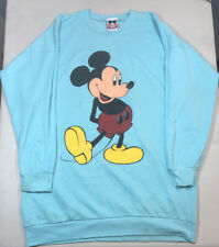 Mickey Mouse Disney Sweatshirt Crewneck Vintage 1980s Women's L/ Mens M Rare