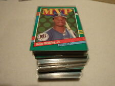 Lot of 100 - 1991 Donruss MVP # 392 Ken Griffey Jr. Near Mint