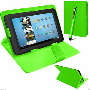 """Universal 7"""" Amazon Kindle Fire  Alexa 7""""inch Flip Tab Stand  Leather Cover Case"""