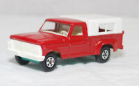 MATCHBOX SUPERFAST - SF-006A VER 7, FORD PICKUP TRK, RED, WHT CANOPY JB1588