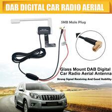 DAB Internal Car Radio Antenna Glass Mount DAB+ Digital Car Aerial Universal SMB
