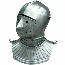 Custom Sca Hnb 16 Gauge Steel Medieval Tournament Maximilian Close helmet