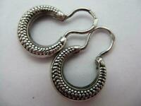 Details about  /Royal Vintage Antique Soviet Russian Earrings Big Stone Sterling Silver 875 USSR