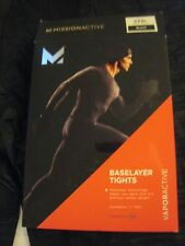 Men's Missionactive Baselayer Tights Vaporactive 3XL Black New NWT