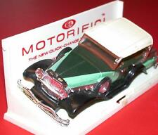 Vintage 1960's Ideal MOTORIFIC Racerific Battery Op. DUESENBERG body EXCELLENT !