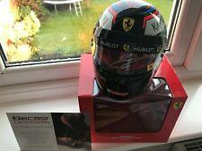 1/2 Scale signed Kimi Raikkonen Ferrari 2018 bell helmet formula1