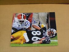Hines Ward, Pgh Steelers Signed, 8 x 10 Game Action Photo, Clean