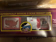 MTH 20-93864 MAKE AMERICA GREAT AGAIN 40' BOX CAR MINT/BOX
