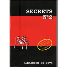 Secrets No. 2 von Alexander de Cova    deutschsprachiges Zauberbuch (80530)
