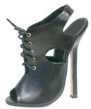 """traumhaft erotische schwarze Designer High Heels """"Heels Le Havre""""  Gr.40"""