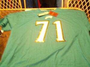 Jacksonville Jaguars Tony Bosseli NFL Mitchell & Ness Throwback  shirt M