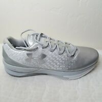 NEW Under Armour Drive Basketball Shoes Men's Size 16 US  White Silver 450102354