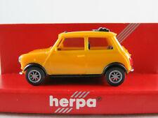 Herpa 021777 Mini Cooper (1991-2000) in chromgelb 1:87/H0 NEU/OVP