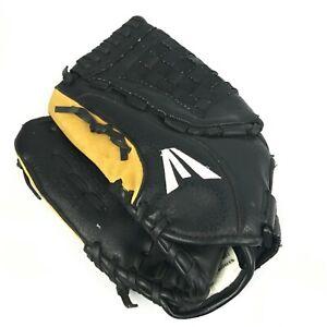 "Easton Black Magic 12.5"" BX1250B Leather Baseball Glove LHT 12 1/2"" Pattern"