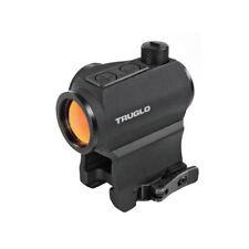 New 2018 TruGlo Tru-Tec 20mm Red Dot Sight 2 MOA Quick Detach Mount TG8120QN