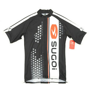 Sugoi Bike Cycling Evolution Jersey X-Small Black/White/Red