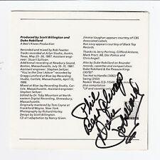 """Duke Robillard Signed """"You Got Me"""" CD Jacket. PSA/DNA* (A1982)"""