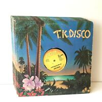 T.K. Disco Singles Lot of 14 Vinyl Record Albums LPs