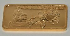 HORSELESS CARRIAGE, AMERICA'S GREATEST EVENTS GP .999 SILVER BAR