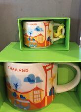 NEW Starbucks Thailand YAH You are Here Mug & Christmas Ornament Set (No Card)