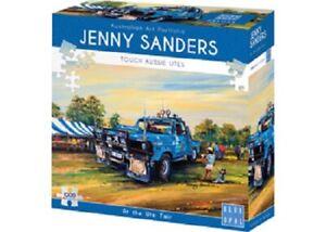 Blue Opal 1000 Piece Jigsaw Puzzle - Jenny Sanders: At The Ute Fair