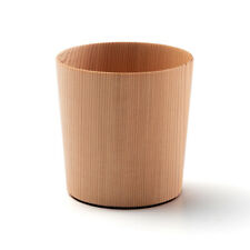 Indigenous Trees In Japan Sugi Wooden Glass For Sake Gulping Down A Drink
