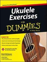 Ukulele Exercises for Dummies, Paperback by Mcqueen, Brett; Wood, Alistair (E...