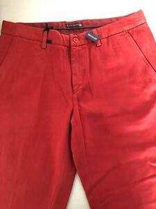 Pantaloni Uomo Mason's Colore Arancione Taglia 50