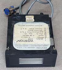 WESTON MODEL 2498 BCD temperature 0-100, 115/230VAC