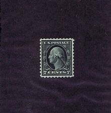 Sc# 469 Unused Original Gum Lightly Hinged 7 Cent Washington, 1916, Very Fine